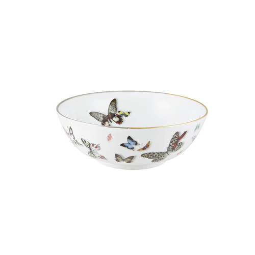 "Vista Alegre Christian Lacroix Butterfly Parade Bowl - 7"""