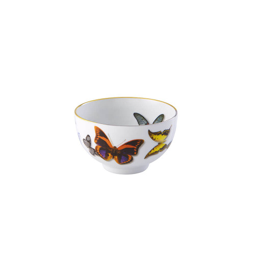 Vista Alegre Christian Lacroix Butterfly Parade Rice Bowl