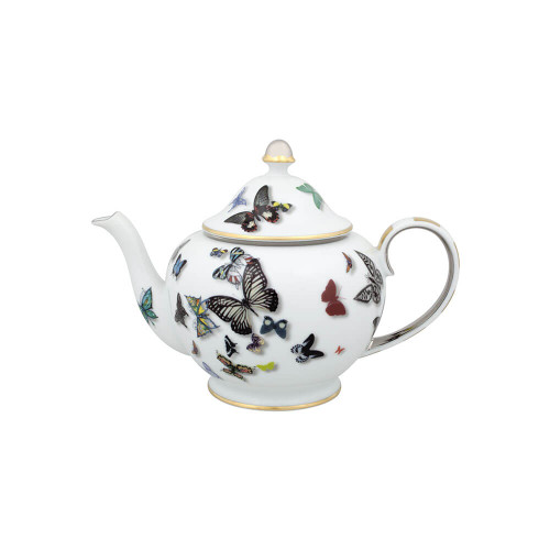 Vista Alegre Christian LaCroix Butterfly Parade Tea Pot