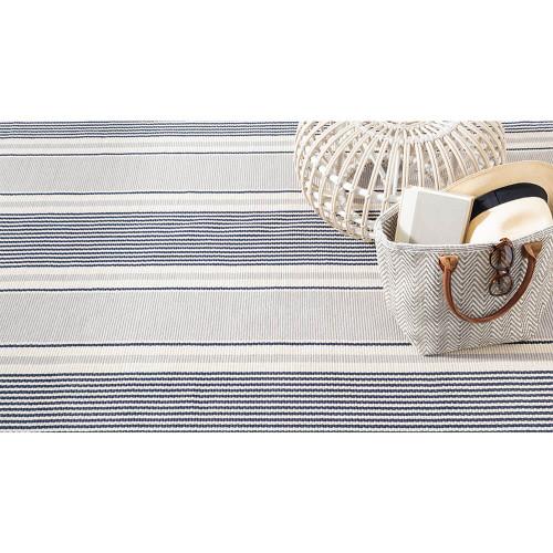 Dash & Albert Gunner Stripe Woven Cotton Rug - 2x3