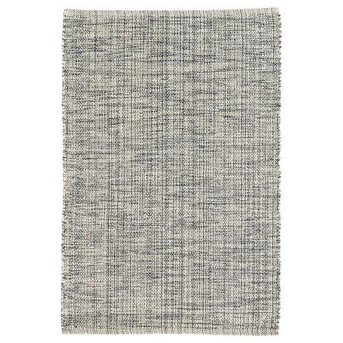 Dash & Albert Marled Indigo Woven Cotton Rug - 2x3