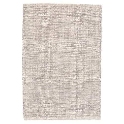 Dash & Albert Marled Grey Woven Cotton Rug - 2x3