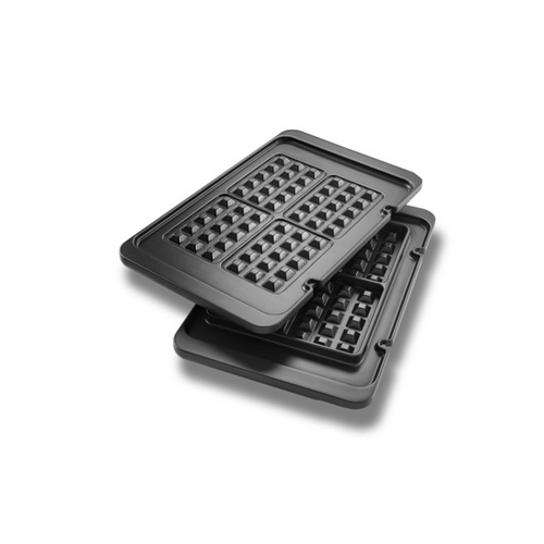 De'Longhi Livenza All Day Combination Contact Grill Waffle Plates
