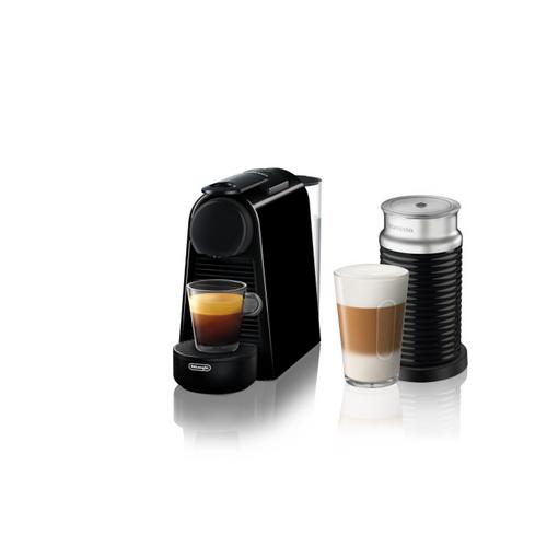 Nespresso Essenza Mini Espresso Machine by De'Longhi with Aeroccino - Black