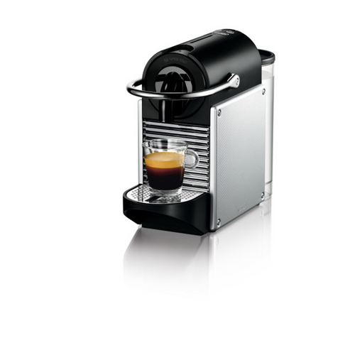 Nespresso Pixie Espresso Maker by De'Longhi - Aluminum