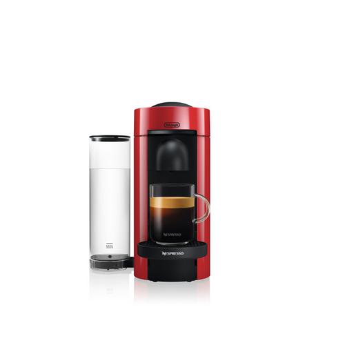 Nespresso Vertuo Plus Coffee and Espresso Maker by De'Longhi - Red