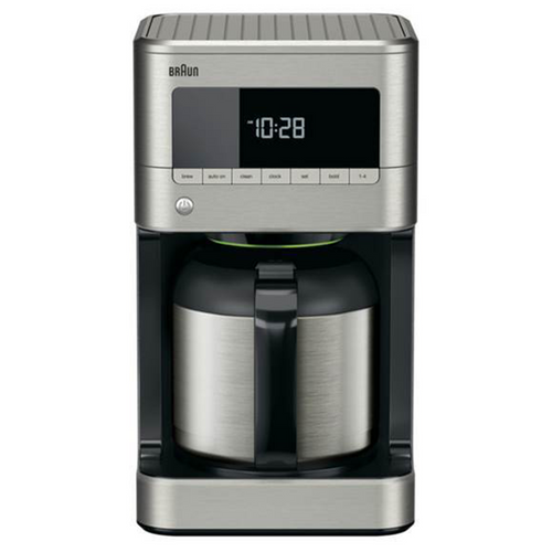 Braun BrewSense 10-Cup Drip Coffee Maker with Thermal Carafe - Stainless - KF7175SI