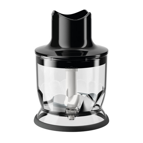 Braun MultiQuick Chopper Hand Blender Attachment - MQ20BK - 1.5 Cup