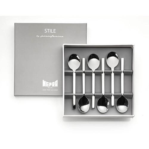 Mepra Stile S/6 Espresso spoons
