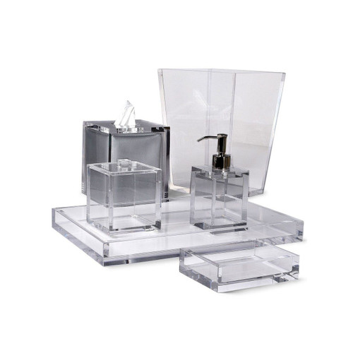 Mike & Ally Clear Ice Bath Accessories Collection