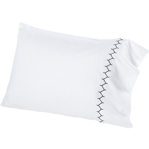 John Robshaw Stitched Pillowcase Pair