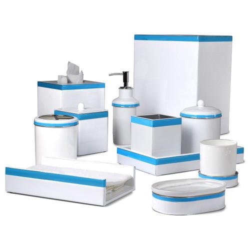 Mike & Ally Regatta Box Soap Pump - Blue