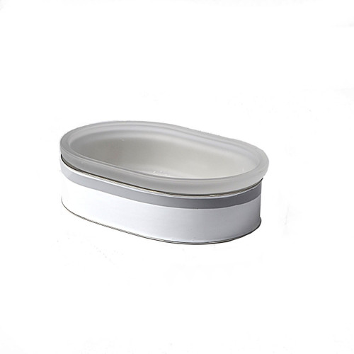 Mike & Ally Regatta Oval Soap Dish - Grey