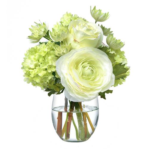 Diane James Small Green & White Bouquet