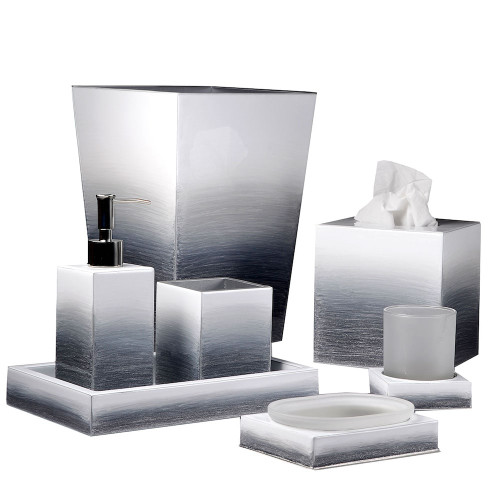 Mike & Ally Ombre Tall Square Container
