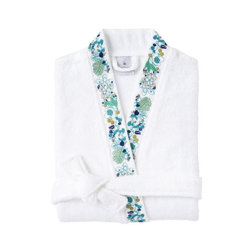 Yves Delorme Flora Kimono Bath Robe