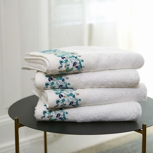 Yves Delorme Flora Guest Towel