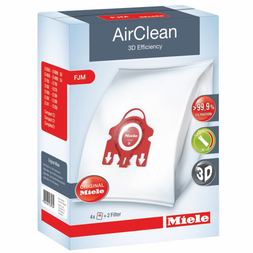 Miele FJM AirClean 3D Efficiency Dust Bags