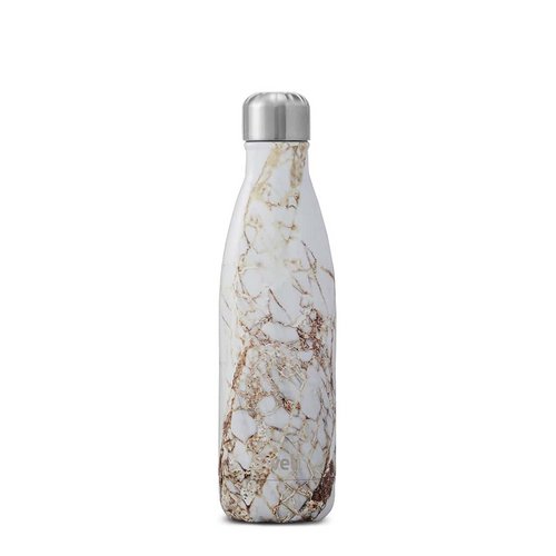 S'well Elements Collection Insulated Stainless Steel Water Bottle - Calacatta Gold