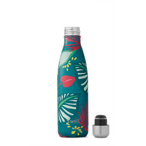 S'well Tropical Collection Collection Insulated Stainless Steel Water Bottle - Rainforest - 17oz