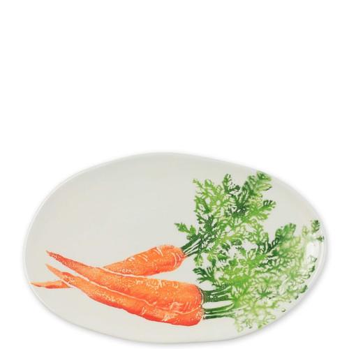 Vietri Spring Vegetables Small Oval Platter
