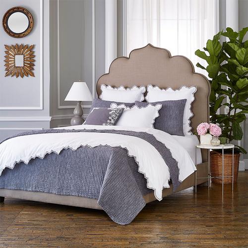 John Robshaw Majjan Gray Decorative Pillow with Insert