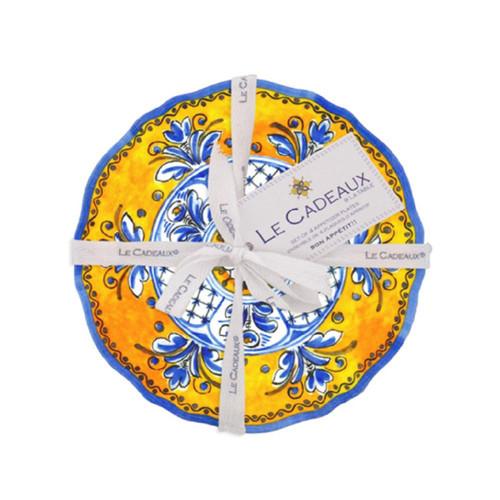 Le Cadeaux Benidorm Appetizer Plates - Set of 4