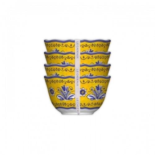 Le Cadeaux Benidorm Dessert Bowls - Set of 4