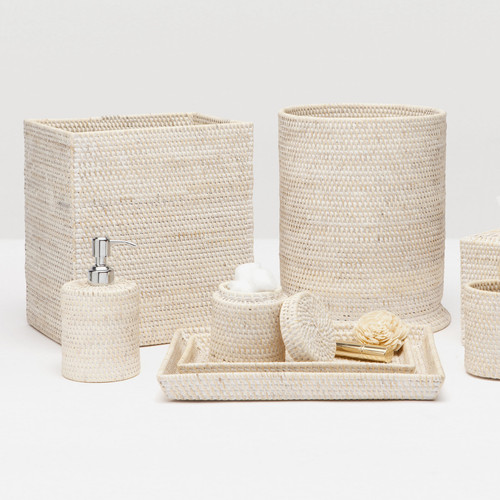 Pigeon & Poodle Dalton Whitewashed Bath Accessories Collection