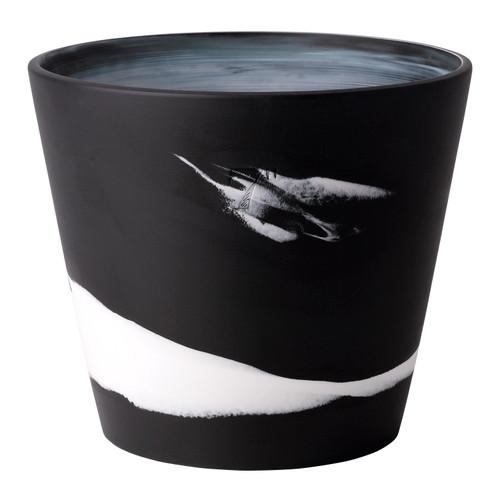 "Wedgwood Burlington Pot 7"" (Black & White)"