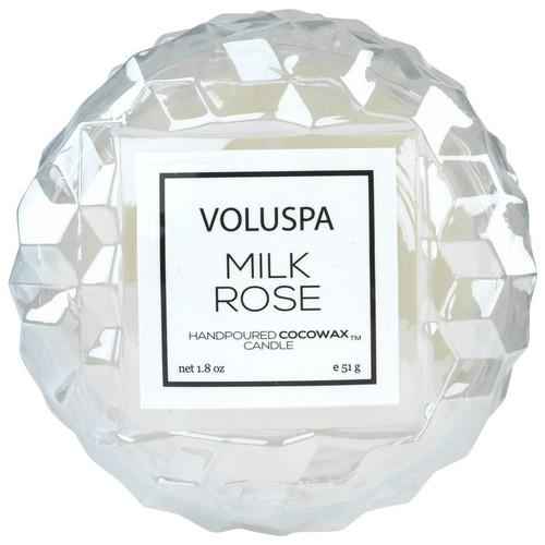Voluspa Rose Collection Milk Rose Macaron Candle