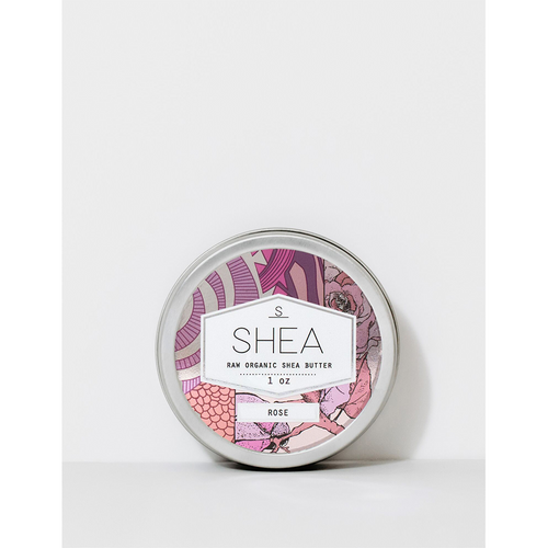 Shea Brand 1oz Rose Shea Butter