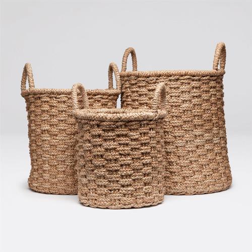 Made Goods Santana Round Baskets - Set of 3
