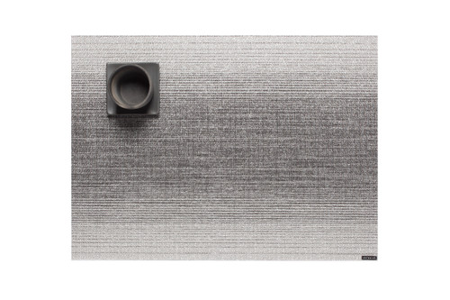 """Chilewich Ombre Placemat - Silver 14""""x19"""""""