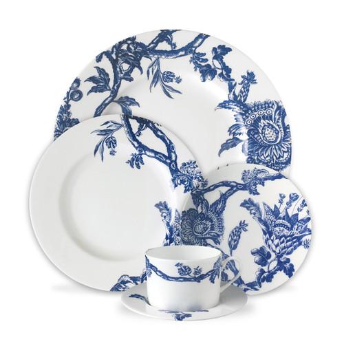 Caskata Arcadia 5 Piece Place Setting - Dinner, Salad, BB, Cup & Saucer