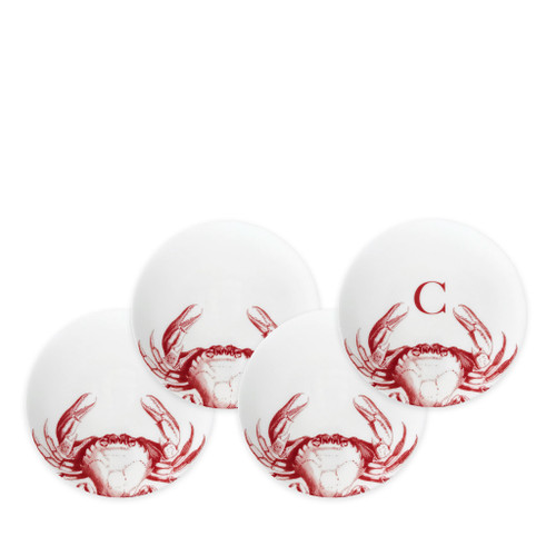 Caskata Crabs Red Canapes - Set of 4