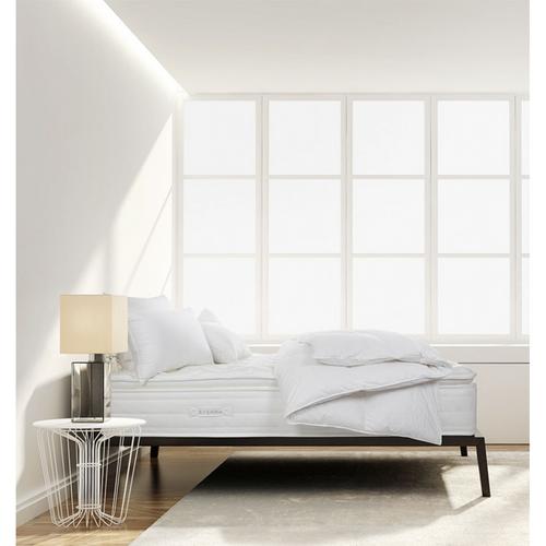 "Sferra Sonno Notte High-Profile Pillow Top Mattress, 9"" Foundation"