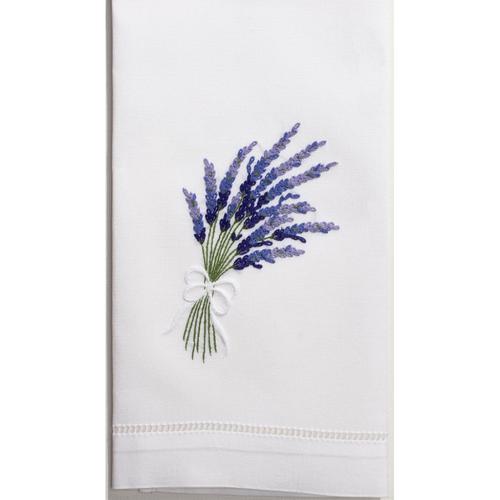 Henry Handwork Lavender Guest Towel
