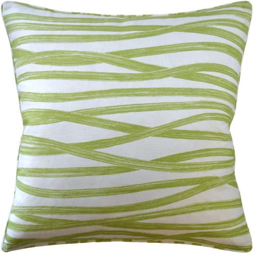 Ryan Studio Brushstrokes Leaf Bolster Pillow