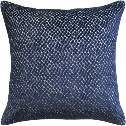 Ryan Studio Jazzy Navy Bolster Pillow