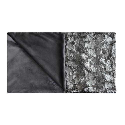 Aviva Stanoff Pyrite Frost Fur Throw - 55x70