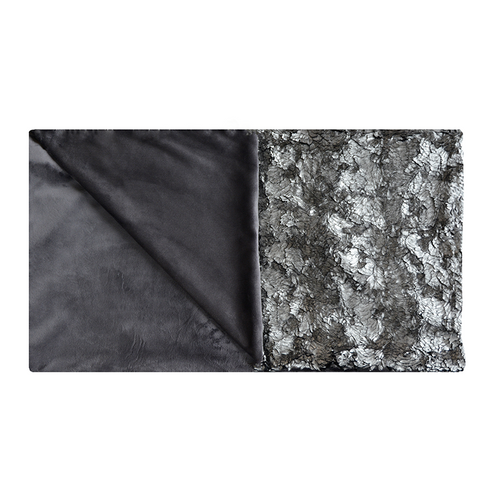 Aviva Stanoff Pyrite Frost Fur Throw - 55x70