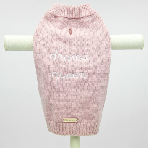 Max-Bone Drama Queen Pink Jumper
