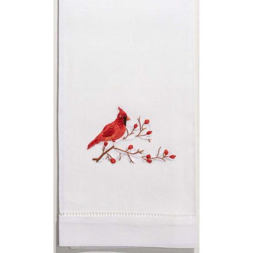 Henry Handwork Cardinal Guest Towel
