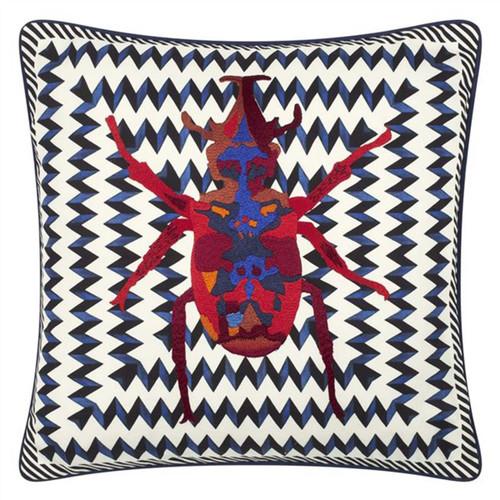 Designers Guild Christian Lacroix Beetle Waves Decorative Pillow
