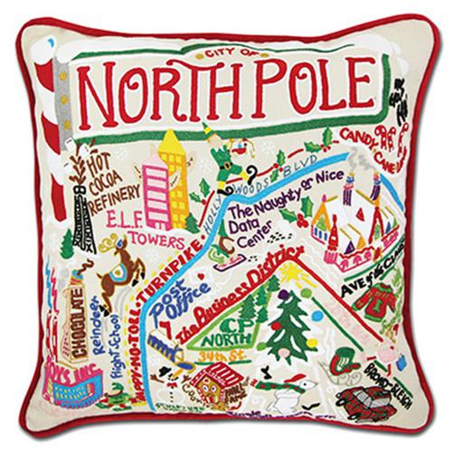 Catstudio North Pole City Pillow