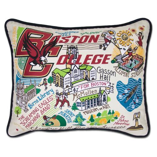 Catstudio Boston College Collegiate Embroidered Pillow