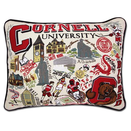 Catstudio Cornell University Collegiate Embroidered Pillow