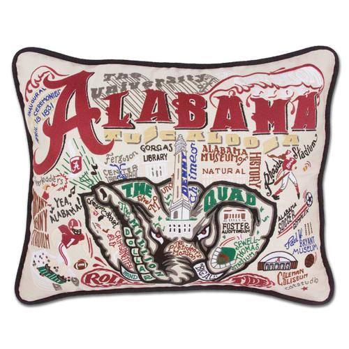 Catstudio Alabama University of Collegiate Embroidered Pillow