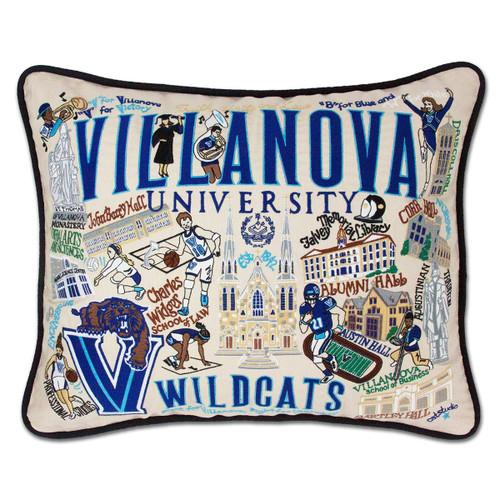 Catstudio Villanova University Collegiate Embroidered Pillow